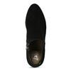 Dámská černá kotníčková obuv na podpatku bata, černá, 799-6625 - 17
