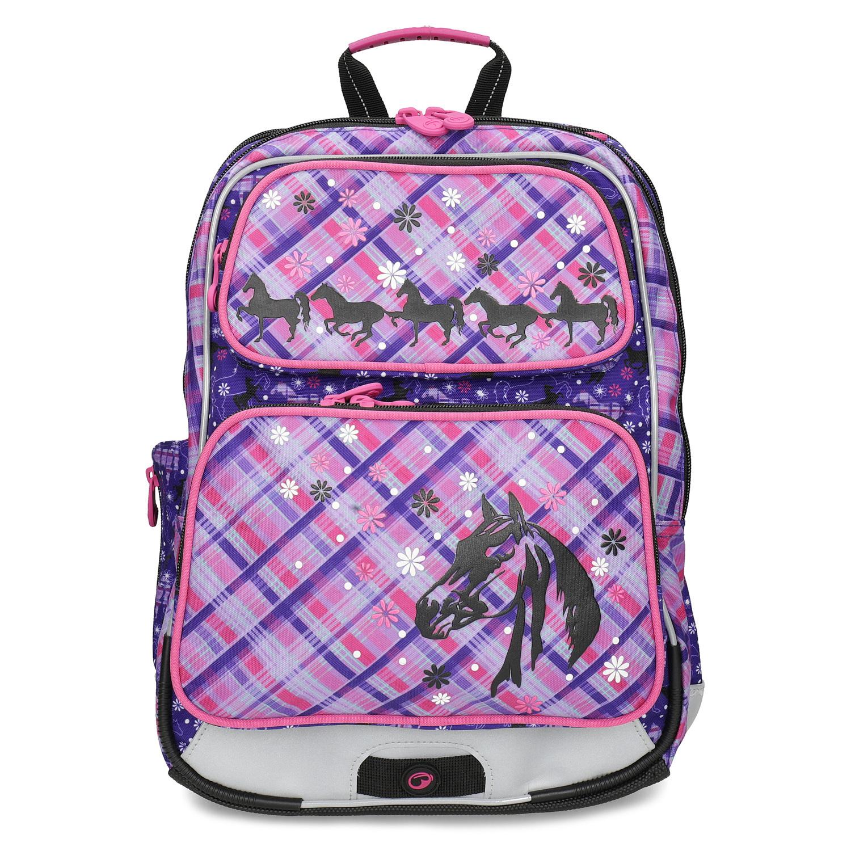 Bagmaster Školní aktovka s koňmi - Školní batohy  35325aa010