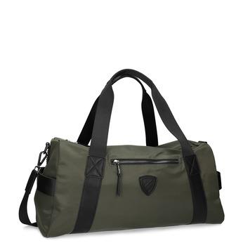 Cestovní khaki taška atletico, zelená, 969-7690 - 13