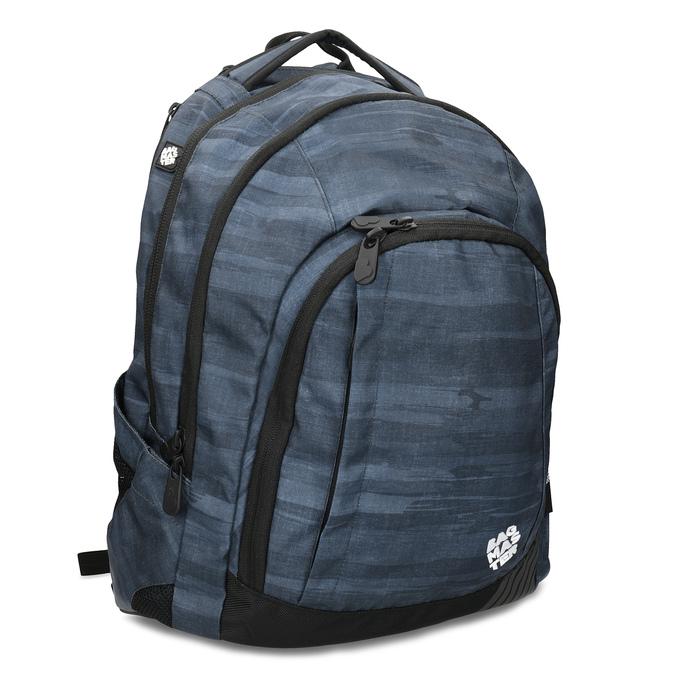 Tmavě šedý školní batoh bagmaster, šedá, 969-2722 - 13