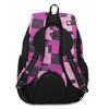 Dívčí školní batoh fialovo-růžový bagmaster, růžová, 969-5720 - 16