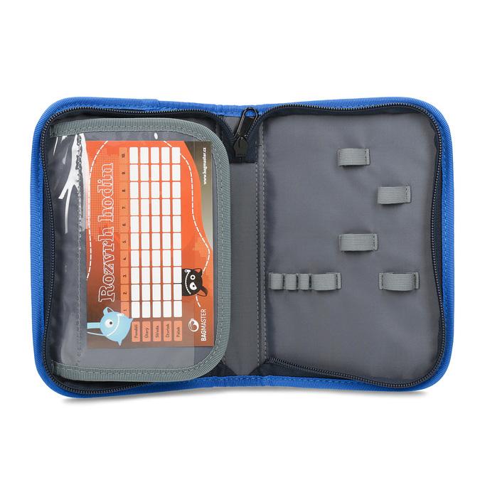 Školní pouzdro s autem bagmaster, modrá, 969-9715 - 15