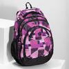 Dívčí školní batoh fialovo-růžový bagmaster, růžová, 969-5720 - 17