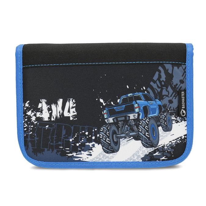 Školní pouzdro s autem bagmaster, modrá, 969-9715 - 26