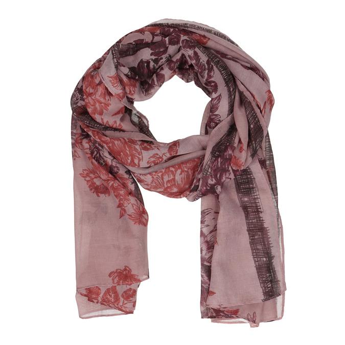 Dámský šátek starorůžový bata, růžová, 909-5693 - 13