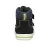Kotníčková dětská obuv na suché zipy bubblegummers, modrá, 113-9610 - 15