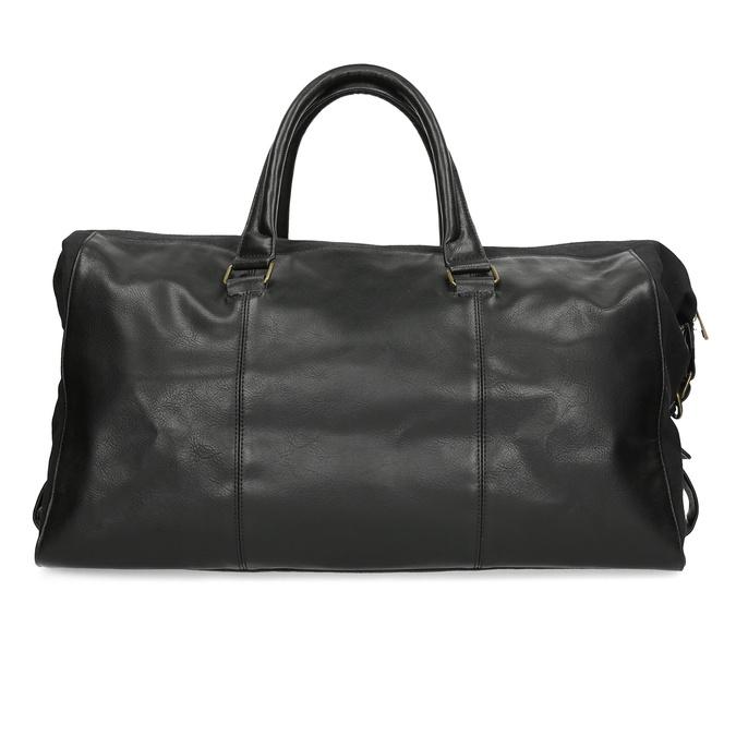 Pánská černá taška s popruhem bata, černá, 969-6230 - 26