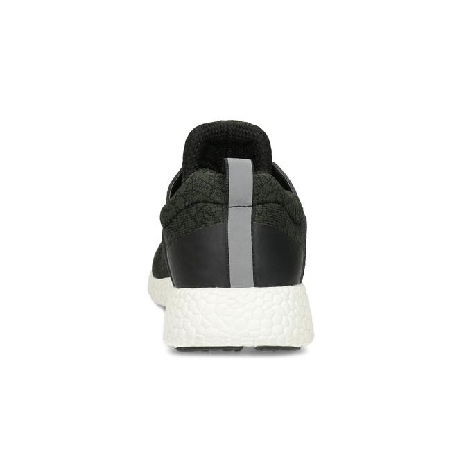 Pánské khaki sportovní tenisky bata-light, zelená, 849-7634 - 15