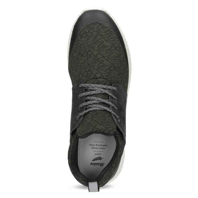 Pánské khaki sportovní tenisky bata-light, zelená, 849-7634 - 17