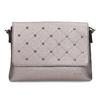 Stříbrná crossbody kabelka se cvočky gabor-bags, bílá, 961-1045 - 26