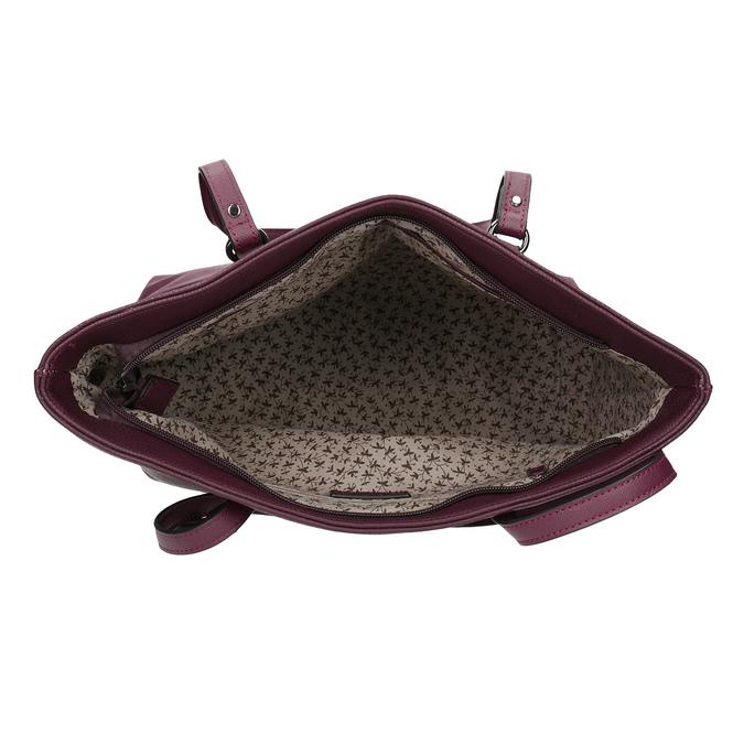 Vínová kabelka shopper bag gabor-bags, červená, 961-5060 - 15