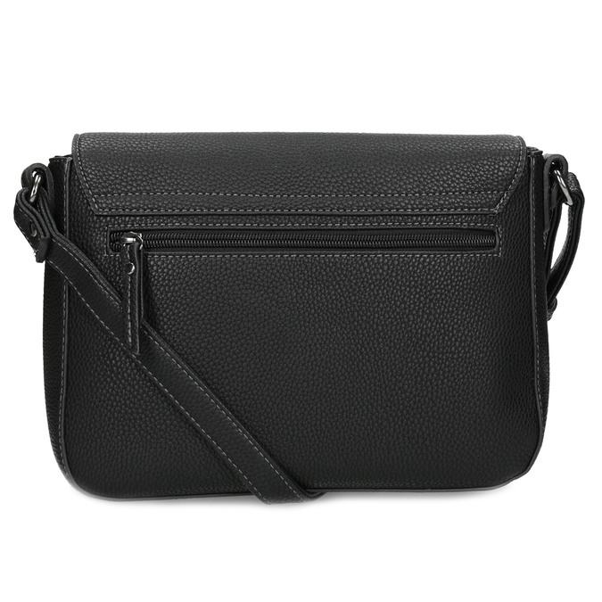 Crossbody kabelka s mašlí gabor-bags, černá, 961-6079 - 16