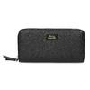 Černá dámská peněženka na zip bata, černá, 941-6223 - 26