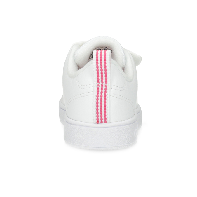 Bílé dětské tenisky s perforací na suché zipy adidas, bílá, 101-5133 - 15