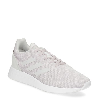 Růžové dámské tenisky s bílými detaily adidas, růžová, 509-5125 - 13
