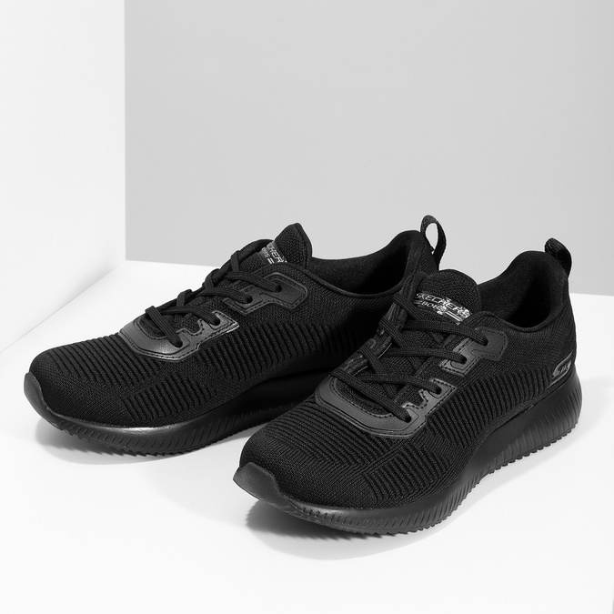 Černé dámské ležérní tenisky skechers, černá, 509-6146 - 16