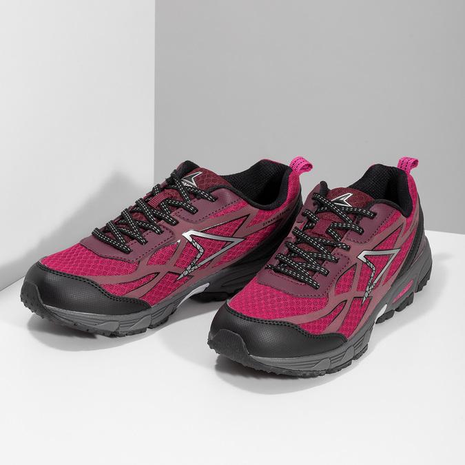 Dámské růžové sportovní tenisky power, růžová, 500-0102 - 16