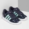 Modré dětské tenisky se vzorem adidas, modrá, 109-9200 - 26