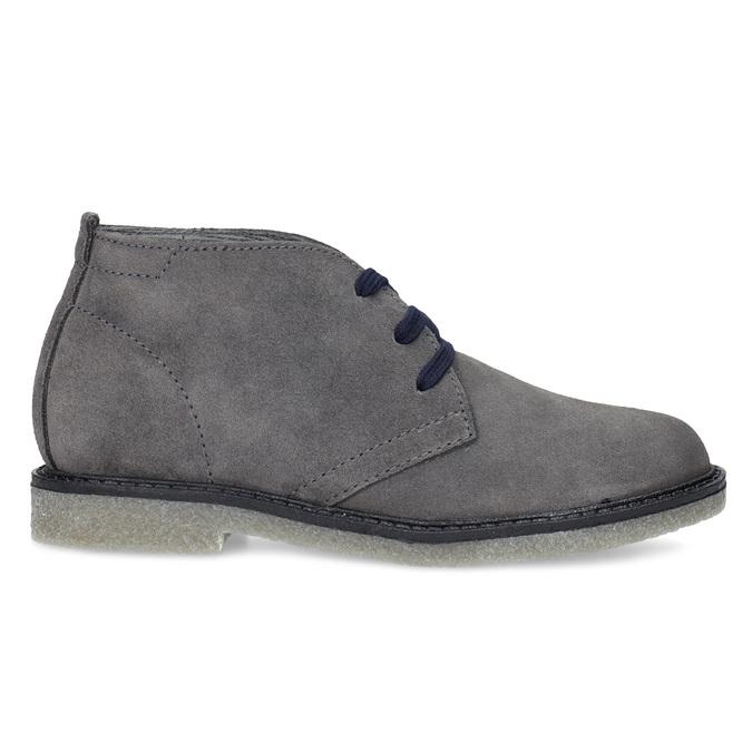 Kožená dětská kotníčková obuv mini-b, šedá, 313-2278 - 19