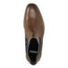 Pánská kožená obuv ve stylu Chelsea bata, hnědá, 826-3865 - 17