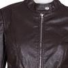 Hnědá dámská bunda s kapsami bata, hnědá, 971-4223 - 16