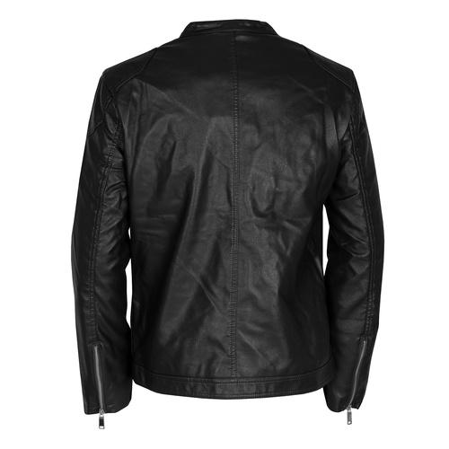 Černá pánská bunda se stříbrnými zipy bata, hnědá, 971-4221 - 26