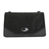 Dámská černá Crossbody kabelka bata, černá, 969-6874 - 26