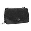Dámská černá Crossbody kabelka bata, černá, 969-6874 - 13