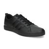 Černé pásnké tenisky s rovnou podešví adidas, černá, 801-6236 - 13