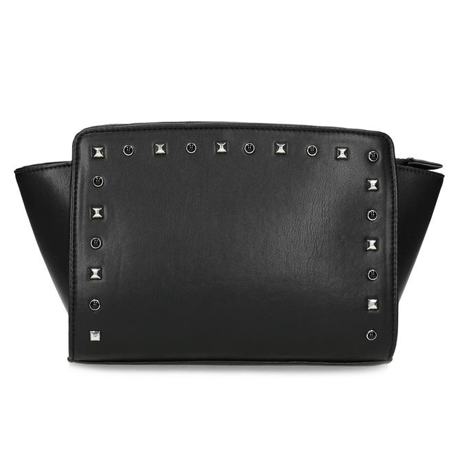 Crossbody kabelka s kovovými cvoky bata, černá, 961-6915 - 26