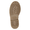Růžová kožená kotníčková obuv weinbrenner-junior, růžová, 326-5608 - 18
