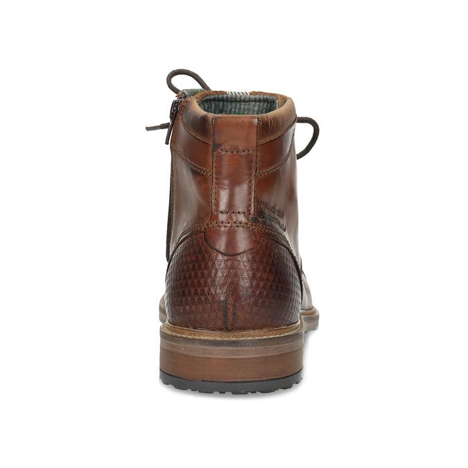 Hnědá kotníčková obuv bugatti, hnědá, 826-3080 - 15