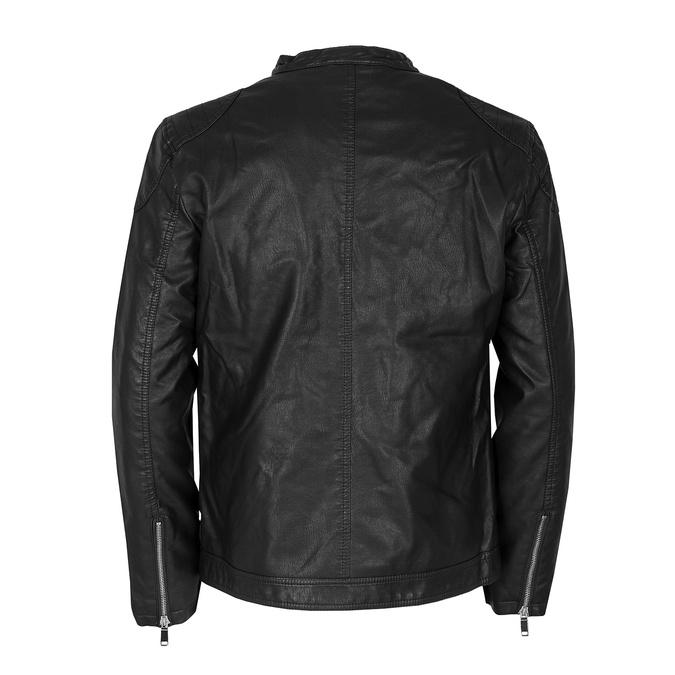 Pánská černá jarní bunda bata, černá, 971-6221 - 26