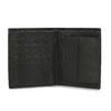 Kožená peněženka s prošitím bata, hnědá, 944-6148 - 15