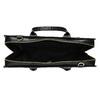 Černá kožená kabelka vhodná na dokumenty royal-republiq, černá, 964-6092 - 15
