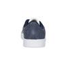 Dětské tenisky z broušené kůže šedé adidas, modrá, 303-9212 - 15