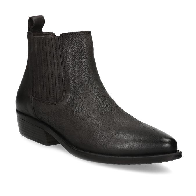 Dámská kotníčková obuv s pružením hnědá bata, hnědá, 596-4969 - 13