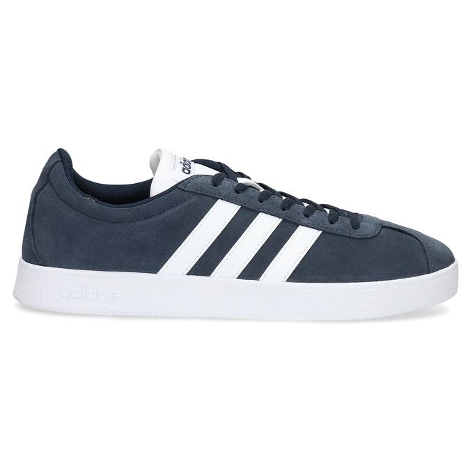 Pánské tenisky z broušené kůže adidas, modrá, 803-9379 - 19