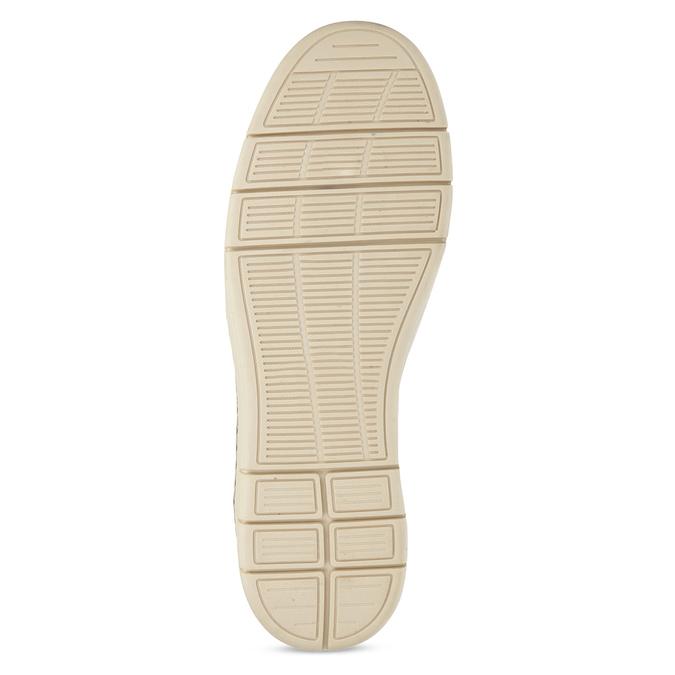 Pánská kotníčková obuv tmavě hnědá bata-red-label, hnědá, 821-4602 - 18