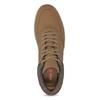 Pánské kotníčkové tenisky hnědé bata-red-label, hnědá, 841-3626 - 17