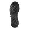 Černé pánské tenisky se žíhaným vzorem le-coq-sportif, černá, 809-6152 - 18