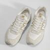 Krémové dámské tenisky z broušené kůže new-balance, béžová, 503-8173 - 16