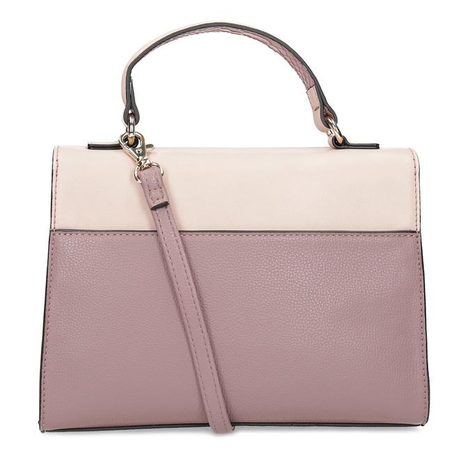 Starorůžová dámská kabelka bata-red-label, růžová, 961-9892 - 16