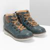 Modrá dětská kotníčková obuv mini-b, modrá, 311-9614 - 26