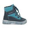 Modrá dětská kožená kotníčková obuv mini-b, modrá, 296-9602 - 19
