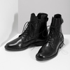 Zimní kotníčková obuv s přezkou bata, černá, 594-6674 - 16