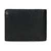 Kožená peněženka s modrým prošitím bata, černá, 944-6218 - 16