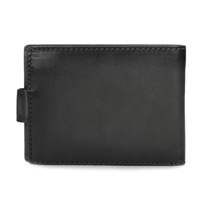 Kožená černá pánská peněženka bata, černá, 944-6219 - 16