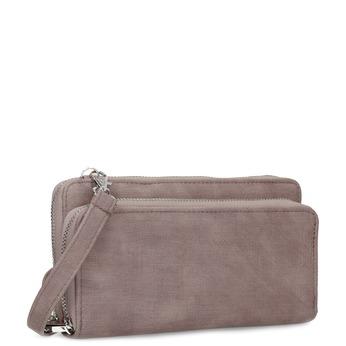 Prostorná dámská peněženka starorůžová bata, béžová, 941-5616 - 13