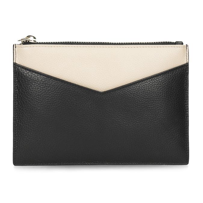 Kožená kapsička s poutkem bata, černá, 944-6222 - 26